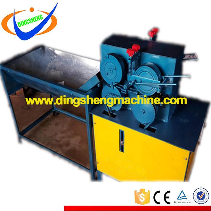 High speed straight cut wire tie machine